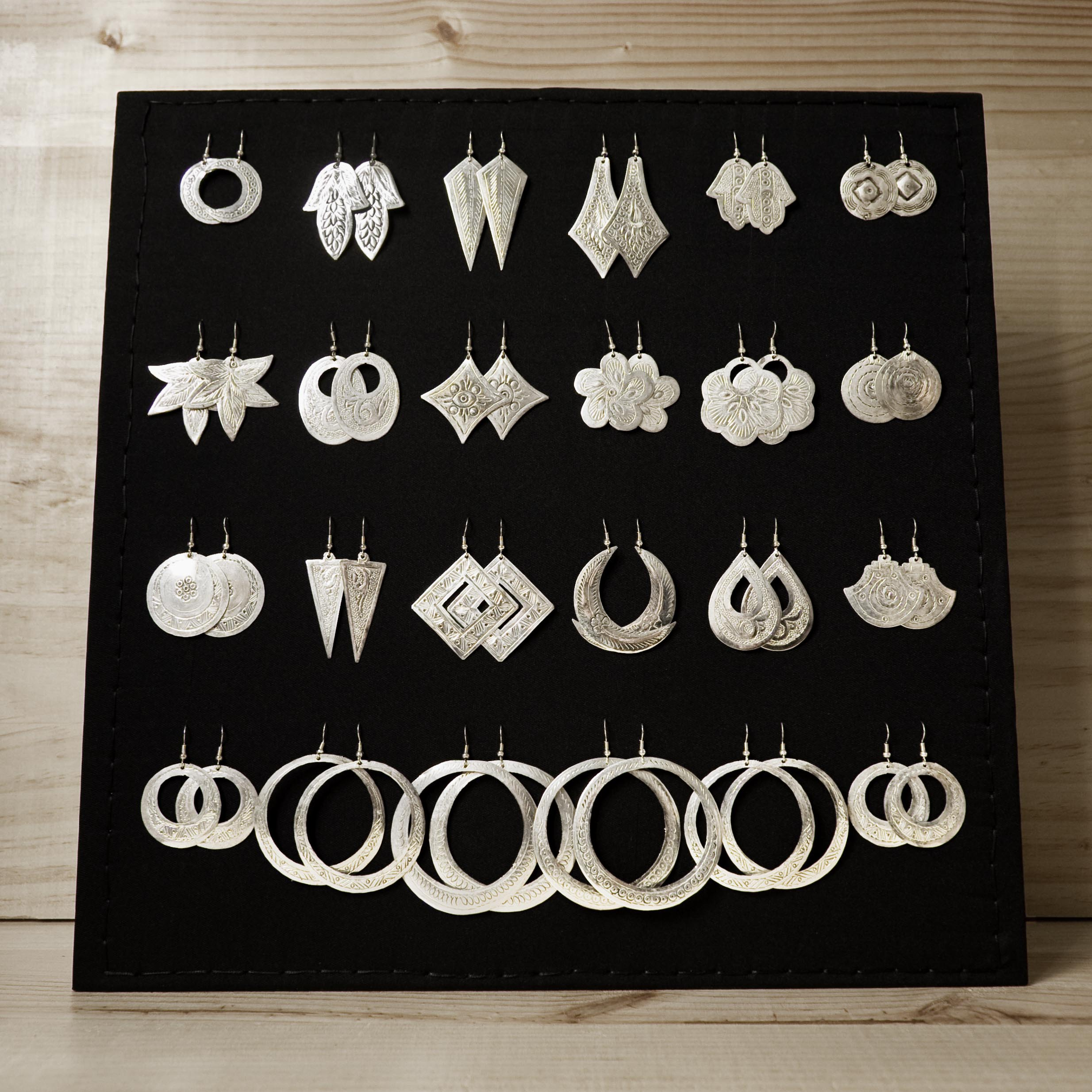 pendientes artesanales Magalilagam