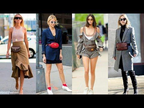Riñoneras: el complemento de moda para este 2018