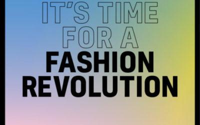 Magalilagam participa en la desfilada de moda sostenible por la Fashion Revolution Week en Barcelona