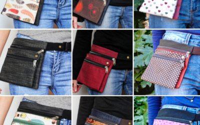 Riñoneras y Bolsos de tela en Barcelona